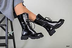 Женские кожаные зимние ботинки наплак, р.36-41, фото 2