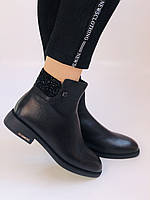 Erisses. Жіночі черевики. На маленькому підборах. Натуральна шкіра. Висока якість. Р. 36,37,39. Vellena, фото 3