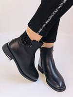 Erisses. Жіночі черевики. На маленькому підборах. Натуральна шкіра. Висока якість. Р. 36,37,39. Vellena, фото 4