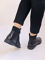 Erisses. Жіночі черевики. На маленькому підборах. Натуральна шкіра. Висока якість. Р. 36,37,39. Vellena, фото 7