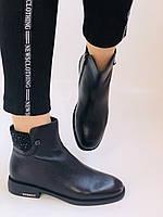 Erisses. Жіночі черевики. На маленькому підборах. Натуральна шкіра. Висока якість. Р. 36,37,39. Vellena, фото 6
