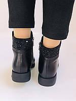 Erisses. Жіночі черевики. На маленькому підборах. Натуральна шкіра. Висока якість. Р. 36,37,39. Vellena, фото 8