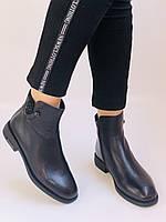 Erisses. Жіночі черевики. На маленькому підборах. Натуральна шкіра. Висока якість. Р. 36,37,39. Vellena, фото 2