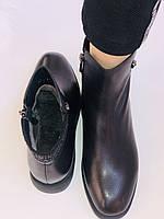 Erisses. Жіночі черевики. На маленькому підборах. Натуральна шкіра. Висока якість. Р. 36,37,39. Vellena, фото 10