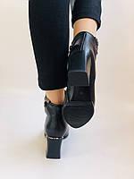 Женские ботинки. На среднем каблуке. Натуральная кожа.Высокое качество. Nadi Bella. Р. 35-40.Vellena, фото 4