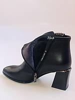 Женские ботинки. На среднем каблуке. Натуральная кожа.Высокое качество. Nadi Bella. Р. 35-40.Vellena, фото 10