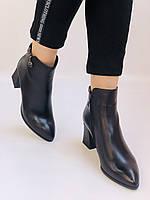 Женские ботинки. На среднем каблуке. Натуральная кожа.Высокое качество. Nadi Bella. Р. 35-40.Vellena, фото 7