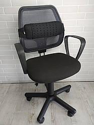 Подушка під поперек EKKOSEAT з масажною накидкою для офісного крісла
