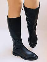 Molka. Натуральне хутро.Зимові чоботи на низькому каблуці. Натуральна шкіра. Р. 36-40., фото 6