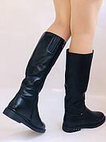Molka. Натуральне хутро.Зимові чоботи на низькому каблуці. Натуральна шкіра. Р. 36-40., фото 2