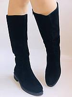 Molka. Натуральне хутро.Зимові чоботи на середньому каблуці. Натуральний замш. Люкс якість.Р. 36. 37.39. 40., фото 6