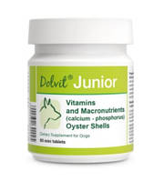 Dolfos Dolvit Junior mini 90 таб - витаминно-минеральный комплекс для щенков Долфос Долвит Джуниор