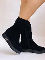 Gotti. Зимние ботинки на натуральном меху. На платформе. Натуральная замша. Р.37,38,39.40., фото 6