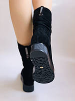 Gotti. Зимние ботинки на натуральном меху. На платформе. Натуральная замша. Р.37,38,39.40., фото 7