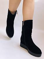 Gotti. Зимние ботинки на натуральном меху. На платформе. Натуральная замша. Р.37,38,39.40., фото 8
