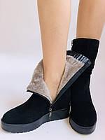 Gotti. Зимние ботинки на натуральном меху. На платформе. Натуральная замша. Р.37,38,39.40., фото 10