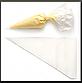 Мешок одноразовый кондитерский мини 34 см 100 шт, фото 2