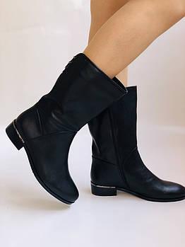 Molka. Женские полусапоги. Широкая нога. Натуральная кожа. Высокое качество. Р. 37. 38. 39