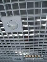 Потолок Грильято 120х120 оцинковка