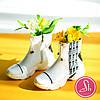 Женские кожаные ботинки в фасоне сникерс