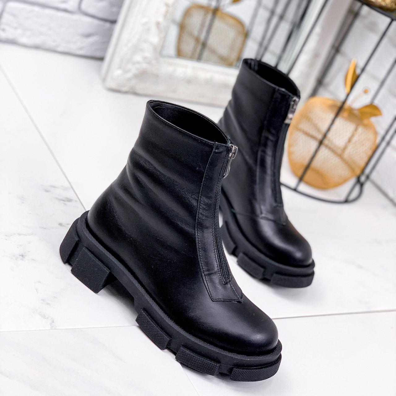 Ботинки женские Viole черныеДЕМИ 2219
