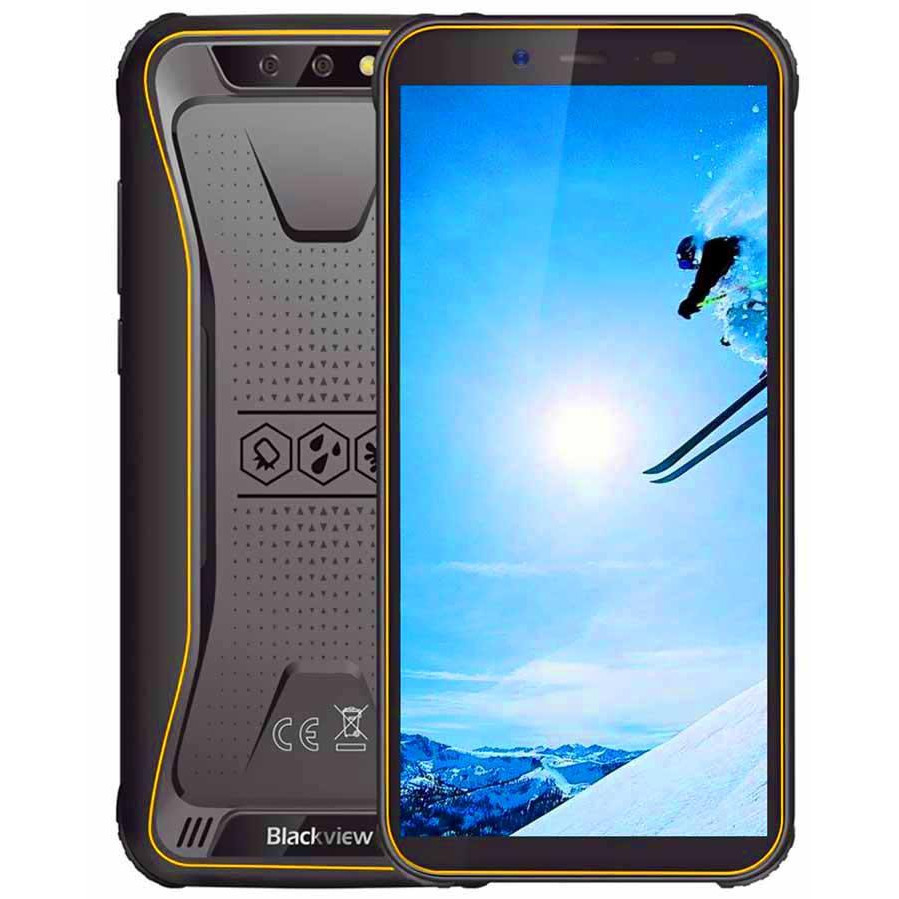 """Защищенный смартфон Blackview BV5500 Plus 3/32GB 5,5"""" Yellow"""