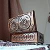 Шкатулка деревянная резная 21*10.5 для украшений, ручная работа, фото 9