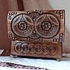Шкатулка деревянная резная 21*10.5 для украшений, ручная работа, фото 8