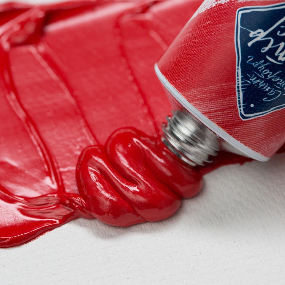 Краска масляная МАСТЕР-КЛАСС, кадмий красный тёмный (303), 46 мл, ЗХК Невская палитра