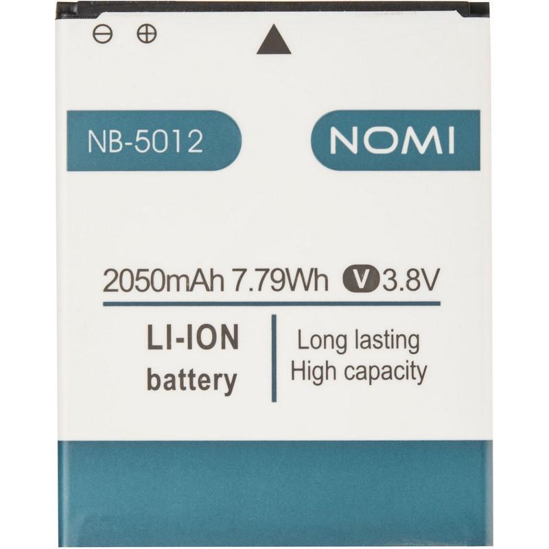 Аккумулятор батарея оригинал NB-5012 NB-5013 для Nomi i5012 i5013