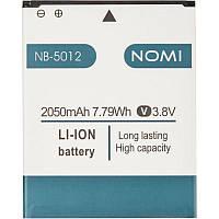 Аккумулятор батарея оригинал NB-5012 NB-5013 для Nomi i5012 i5013, фото 1
