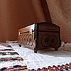 Шкатулка деревянная резная 21*11 для украшений, ручная работа, фото 8