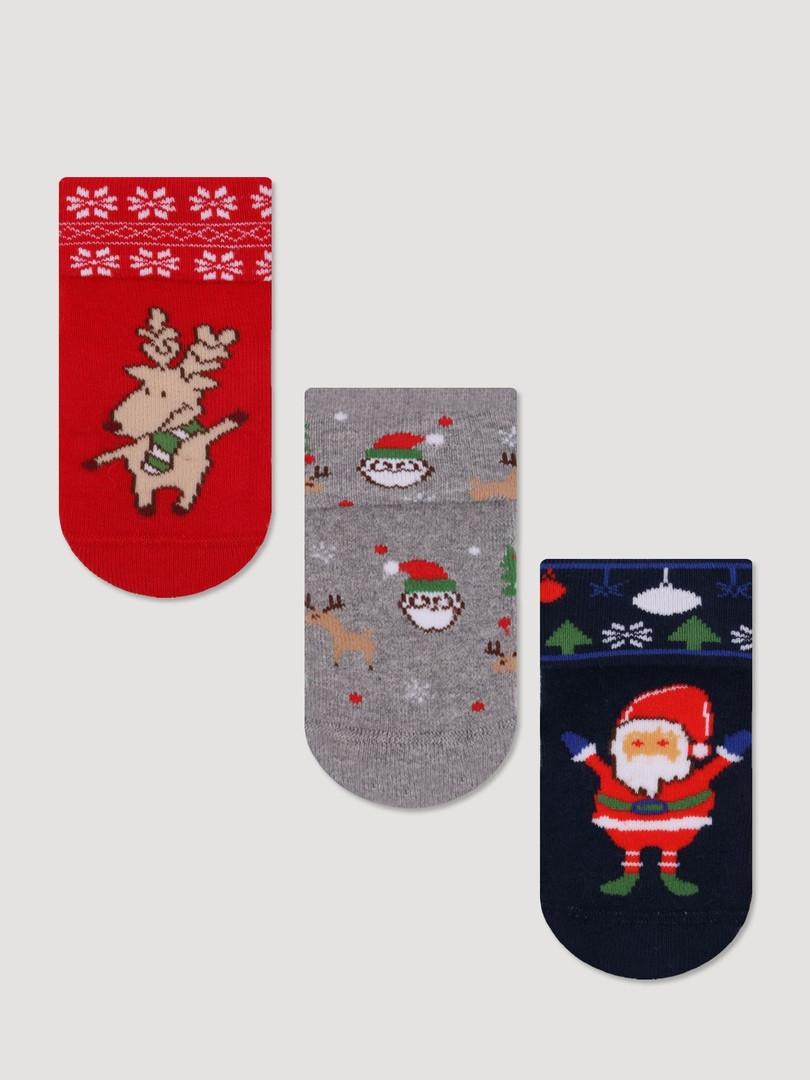 Дитячі махрові шкарпетки з отворотным манжетиком Bross (за 1 пару)