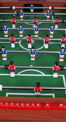 Настольный футбол Horizon Games, коричневый, фото 2