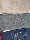 Трикотаж без пальцев женские перчатки Эластичный(только ОПТ), фото 5
