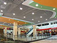 Потолок Грильято 200х200 алюминиевый