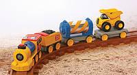Железная дорога CAT Pre School, со светом и звуком Toy State (80408)