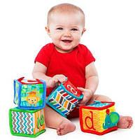 Мягкие кубики Веселая учеба, Kids II (52160)
