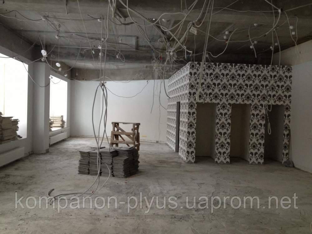 Демонтаж потолков подвесного потолка натяжного потолка