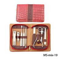Маникюрный набор в стильной упаковке Lady Victory LDV MS-mix-19 /65-8