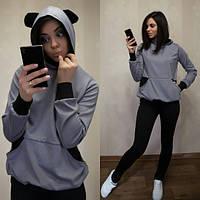 Женский спортивный костюм с ушками Regis r-280579