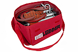 Лестница навесная спасательная универсальная Uniladder 2L-1000 Silver усиленные крюки (n-144), фото 2