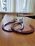 Лестница навесная спасательная универсальная Uniladder 2L-1000 Silver усиленные крюки (n-144), фото 5