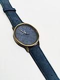 Часы джинсовые наручные 2Life Синий (n-450), фото 2