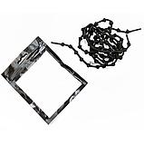 Эластичные шнурки с узелками с металлическими фиксаторами концов шнурка 2Life Черный (n-502), фото 3