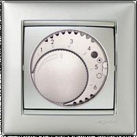 Терморегулятор для тёплых полов Valena 770291 алюминий