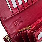 Шкіряний гаманець BETLEWSKI з RFID 19 х 9 х 4 (BPD-CR-72031) - бордовий, фото 6