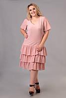 Платье Tasa 1171 56 Светло-розовое, КОД: 722585
