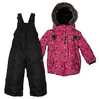 Комбинезон зимний для девочки X-trem by Gusti 4801 XWG DARK PINK.