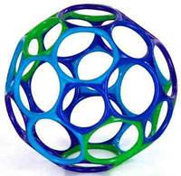 Мячик фиолетовый-синий-голубой-зеленый, развивающая игрушка, OBall (81024-1)